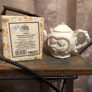 Vintage Precious Moments Musical Teapot